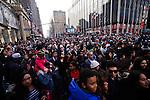 People take part of the annual Thanksgiving day parade in New York, November 22, 2012. . Photo by Eduardo Munoz Alvarez / VIEWpress.