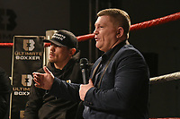 Ricky Hatton speaks during the Ultimate Boxxer Launch at the ME London Hotel on 5th February 2018