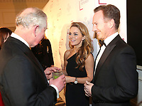 07 February 2019 - Prince Charles, Prince Of Wales meets Geri Halliwell and Christian Horner during the Prince's Trust Invest In Futures Reception at The Savoy Hotel in London. Over the past 13 years, The Princes Trusts 'Invest in Futures' event has encouraged donors to help disadvantaged young people into work, training or enterprise. Photo Credit: ALPR/AdMedia