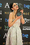 Nerea Barros attend the 2015 Goya Award Winners Photocall at Auditorium Hotel, Madrid,  Spain. February 07, 2015.(ALTERPHOTOS/)Carlos Dafonte)