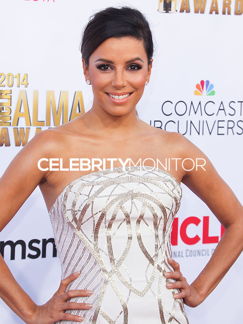 PASADENA, CA, USA - OCTOBER 10: Eva Longoria arrives at the 2014 NCLR ALMA Awards held at the Pasadena Civic Auditorium on October 10, 2014 in Pasadena, California, United States. (Photo by Celebrity Monitor)