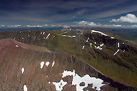 Aonach Beag and the Carn Mor Dearg Arete from Ben Nevis, Lochaber