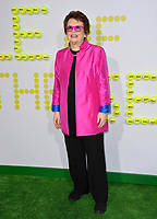 Billie Jean King at the premiere for &quot;Battle of the Sexes&quot; at the Regency Village Theatre, Westwood, Los Angeles, USA 16 September  2017<br /> Picture: Paul Smith/Featureflash/SilverHub 0208 004 5359 sales@silverhubmedia.com