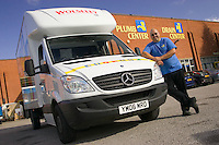 Mercedes Van at Plumb Center in Sheffield
