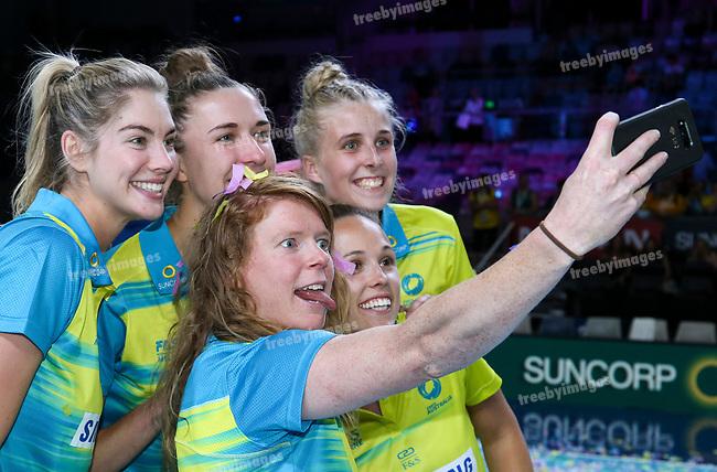 29/10/17 Fast5 2017<br /> Fast 5 Netball World Series<br /> Hisense Arena Melbourne<br /> Grand Final Jamaica v England<br /> <br /> Tegan Philip<br /> <br /> <br /> <br /> <br /> Photo: Grant Treeby