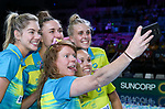 29/10/17 Fast5 2017<br /> Fast 5 Netball World Series<br /> Hisense Arena Melbourne<br /> Grand Final Jamaica v England<br /> <br /> Tegan Philip<br /> <br /> <br /> <br /> <br /> Photo: Grant Treeby