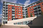 New apartments as part of the urban redevelopment of Ipswich Wet Dock, Ipswich, Suffolk