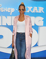 Alesha Dixon at the &quot;Finding Dory&quot; UK film premiere, Odeon Leicester Square cinema, Leicester Square, London, England, UK, on Sunday 10 July 2016.<br /> CAP/CAN<br /> &copy;CAN/Capital Pictures ***USA and South America Only**