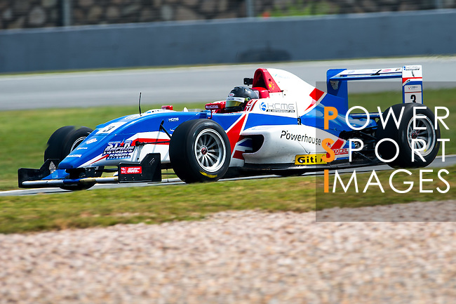 Sean Zheng of China and Cebu Pacific Air by KCMG  drives during the Formula Masters China Series as part of the 2015 Pan Delta Super Racing Festival at Zhuhai International Circuit on September 20, 2015 in Zhuhai, China.  Photo by Aitor Alcalde/Power Sport Images