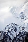 USA, Alaska, a section of Mount Denali, Denali National Park