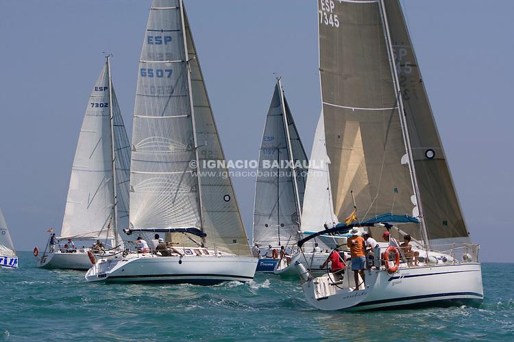 FLOTA .XIII TROFEO DE VELA CIUDAD DE BURRIANA Trofeo Caja Rural Burriana, Burriana, Castellón, Spain - Regata de flota/Fleet Race - Cruceros/Cruisser