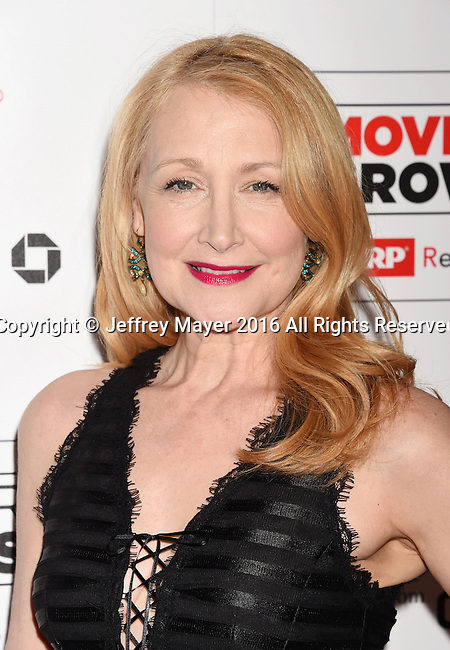 BEVERLY HILLS, CA - FEBRUARY 08: Actress Patricia Clarkson attends AARP's Movie For GrownUps Awards at the Regent Beverly Wilshire Four Seasons Hotel on February 8, 2016 in Beverly Hills, California.