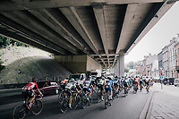 Under the bridge<br /> <br /> Ster ZLM Tour (2.1)<br /> Stage 4: Hotel Verviers &gt; La Gileppe (Jalhay)(190km)