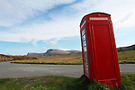 Telephone Box, Trotternish, Isle of Skye, Scotland