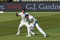 Jonny Bairstow catches out Ish Sodhi of the Black Caps with  and Alastair Cook  celebrates of during Day 3 of the Second International Cricket Test match, New Zealand V England, Hagley Oval, Christchurch, New Zealand, 1st April 2018.Copyright photo: John Davidson / www.photosport.nz
