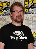 SAN DIEGO COMIC-CON© 2019: 20th Century Fox Television and Hulu's Solar Opposites Co-Creator/Executive Producer Justin Roiland during the SOLAR OPPOSITES press room on Friday, July 19 at the SAN DIEGO COMIC-CON© 2019. CR: Frank Micelotta/20th Century Fox Television