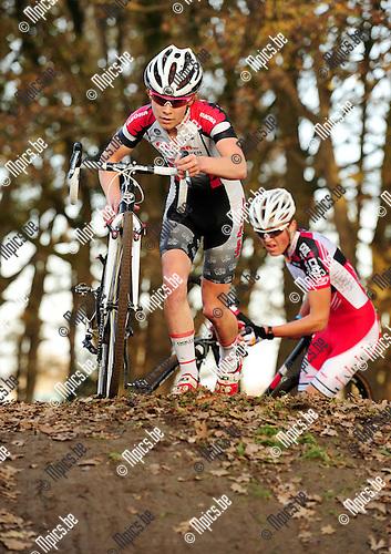 2014-11-22 / Veldrijden / seizoen 2014-2015 / PK Antwerpen Junioren / Briek Hermans<br /><br />Foto: mpics.be