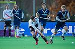 AMSTELVEEN - Johannes Mooij (Adam) tijdens de competitie hoofdklasse hockeywedstrijd heren, Pinoke-Amsterdam (1-1)   COPYRIGHT KOEN SUYK