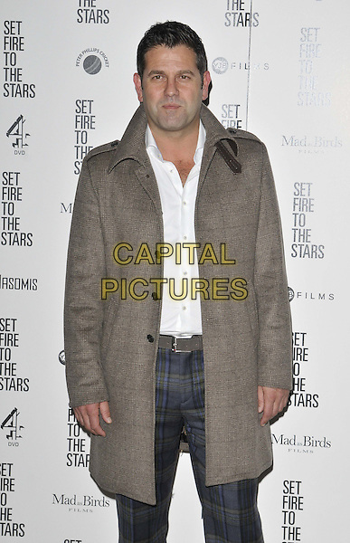 LONDON, ENGLAND - OCTOBER 28: Patrick Baladi attends the &quot;Set Fire To The Stars&quot; UK film premiere, The Ham Yard Hotel, Denman St., on Tuesday October 28, 2014 in London, England, UK. <br /> CAP/CAN<br /> &copy;Can Nguyen/Capital Pictures