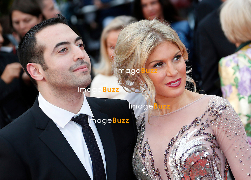 CPE/Hofit Golan and Mohammed Al Turki attends the 'Jeune & Jolie' premiere during The 66th Annual Cannes Film Festival at the Palais des Festivals on May 16, 2013 in Cannes, France.