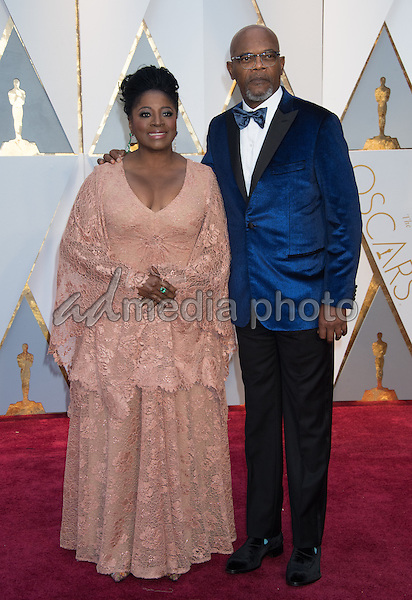 26 February 2017 - Hollywood, California - Samuel L. Jackson and LaTanya Richardson. 89th Annual Academy Awards presented by the Academy of Motion Picture Arts and Sciences held at Hollywood & Highland Center. Photo Credit: AMPAS/AdMedia