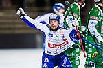 Stockholm 2013-11-08 Bandy Elitserien Hammarby IF - Villa Lidk&ouml;ping BK :  <br /> Villa Lidk&ouml;ping Jesper Bryngelsson jublar efter att ha gett Villa Lidk&ouml;ping ledningen med 3-2<br /> (Foto: Kenta J&ouml;nsson) Nyckelord:  jubel gl&auml;dje lycka glad happy