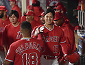 MLB: Shohei Ohtani LA Angels - Oakland Athletics