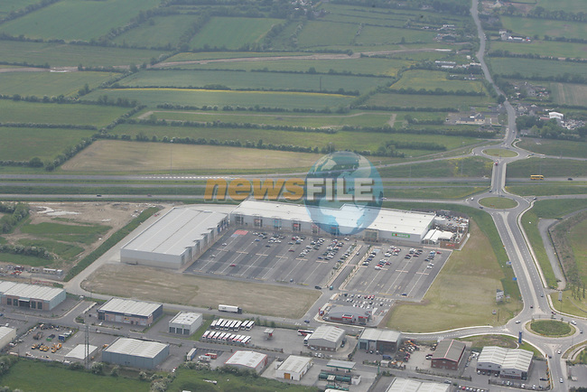 Aerial view of Drogheda Retail Park, Donore Road. 04/06/06...Photo NEWSFILE/Fran Caffrey.(Photo credit should read Fran Caffrey/NEWSFILE)....This Picture has been sent you under the condtions enclosed by:.Newsfile Ltd..The Studio,.Millmount Abbey,.Drogheda,.Co Meath..Ireland..Tel: +353(0)41-9871240.Fax: +353(0)41-9871260.GSM: +353(0)86-2500958.email: pictures@newsfile.ie.www.newsfile.ie.FTP: 193.120.102.198...This picture is from Fran Caffrey@newsfile.ie