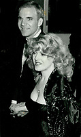 Bernadette Peters &amp; Steve Martin 1978<br /> Photo By John Barrett-PHOTOlink.net / MediaPunch