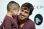 Spanish F1 driver Fernando Alonso presents a solidarity campaign with a child suffering from leukemia in Madrid, Spain. September 02, 2014. Foto © nph / Caro Marin)