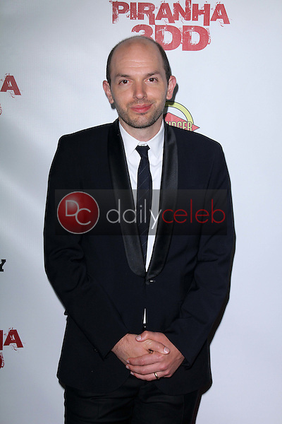 Paul Scheer<br /> at the &quot;Piranha 3DD&quot; Los Angeles Premiere, Chinese 6, Hollywood, CA 05-29-12<br /> David Edwards/DailyCeleb.com 818-249-4998