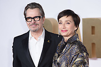 "Gary Oldman and Kristin Scott Thomas<br /> arriving for the ""Darkest Hour"" premiere at the Odeon Leicester Square, London<br /> <br /> <br /> ©Ash Knotek  D3361  11/12/2017"