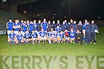 TOP TEAM: The Kerins O'Rahillys team winner's of the Coiste Thrá Lí 2013 senior football league final at Austin Stack park, Tralee on Saturday.
