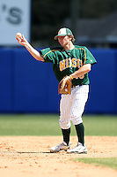 March 14, 2010:  Infielder Preston Ghizoni (18) of North Dakota State University Bison vs. Akron University at Chain of Lakes Park in Winter Haven, FL.  Photo By Mike Janes/Four Seam Images