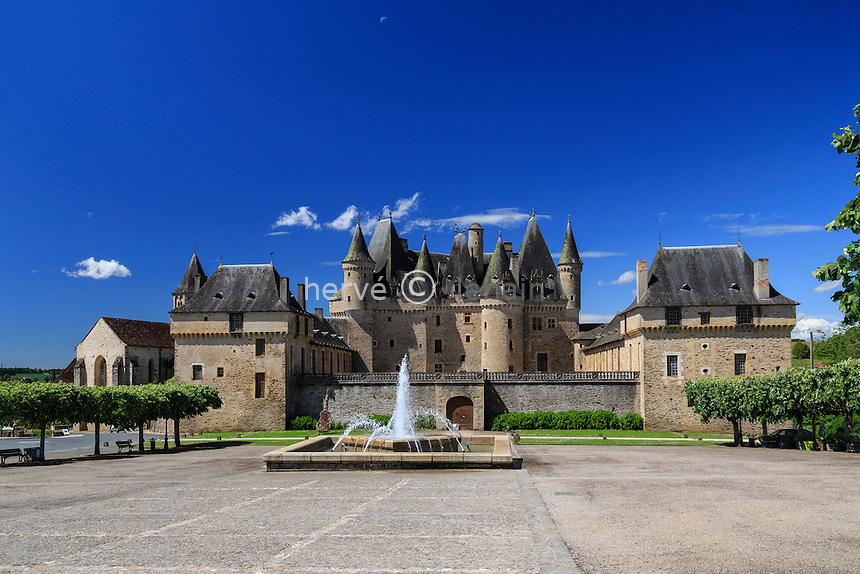 France, Dordogne (24), Jumilhac-le-Grand, le château // France, Dordogne, Jumilhac le Grand, the castle