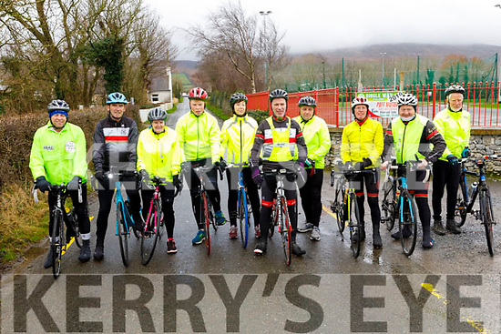 Ready for road at the 6th annual Jimmy Duffy Memorial Cycle in Blennerville on Saturday.