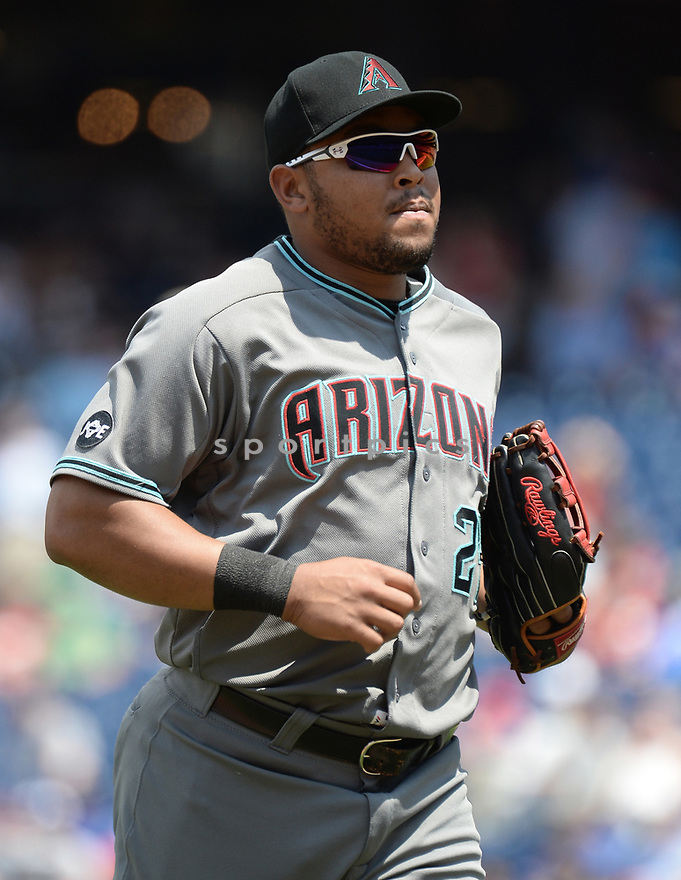 Arizona Diamondbacks Yasmany Tomas (24) during a game against the Philadelphia Phillies on June 20, 2016 at Citizens Bank Park in Philadelphia, PA. The Diamondbacks beat the Phillies 3-1.