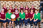 Ballybunion Ladies win the Joe Quinlan foursomes Ladies Final held at Dooks Golf Club on Friday, for the second year in a row.<br /> Front L-R Eleanor O'Sullivan, Norah Quinlan, Norma McKeon, Margaret Murphy, Nora Quaid (Lady Captain), MArgaret McAuliffe, Margaret O' Shea (Tralee Lady Captain), <br /> Back L-R Marie Benn, Marian Flannery, Marjorie Morkan, Toni Quilter, Jean Liston, Podge O'Reilly.