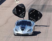 Feb 23, 2019; Chandler, AZ, USA; NHRA top sportsman driver Phil Dion during qualifying for the Arizona Nationals at Wild Horse Pass Motorsports Park. Mandatory Credit: Mark J. Rebilas-USA TODAY Sports