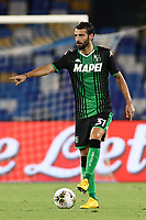 Gian Marco Ferrari US Sassuolo<br /> during the Serie A football match between SSC  Napoli and US Sassuolo at stadio San Paolo in Naples ( Italy ), July 25th, 2020. Play resumes behind closed doors following the outbreak of the coronavirus disease. <br /> Photo Cesare Purini / Insidefoto