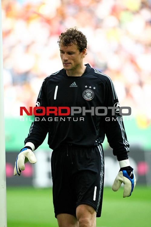 EM 2008 Testspiel Deutschland gegen Serbien am 31.05.2008 in Gelsenkirchen<br /> <br /> Jens Lehmann (#1 ARSENAL London Torwart / Keeper Deutsche Nationalmannschaft).<br /> <br /> Foto &copy; nph (  nordphoto  ) *** Local Caption ***