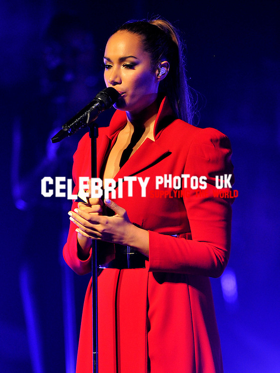 Leona Lewis on her UK 'Glassheart' tour at Oxford New Theatre, Oxford - May 11th 2013