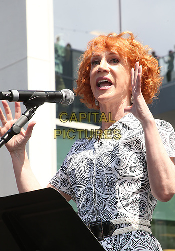 LOS ANGELES, CA -APRIL 7: Kathy Griffin, at Grand Opening Of The Los Angeles LGBT Center's Anita May Rosenstein Campus at Anita May Rosenstein Campus in Los Angeles, California on April 7, 2019.<br /> CAP/MPIFS<br /> &copy;MPIFS/Capital Pictures