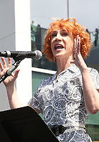 LOS ANGELES, CA -APRIL 7: Kathy Griffin, at Grand Opening Of The Los Angeles LGBT Center's Anita May Rosenstein Campus at Anita May Rosenstein Campus in Los Angeles, California on April 7, 2019.<br /> CAP/MPIFS<br /> ©MPIFS/Capital Pictures