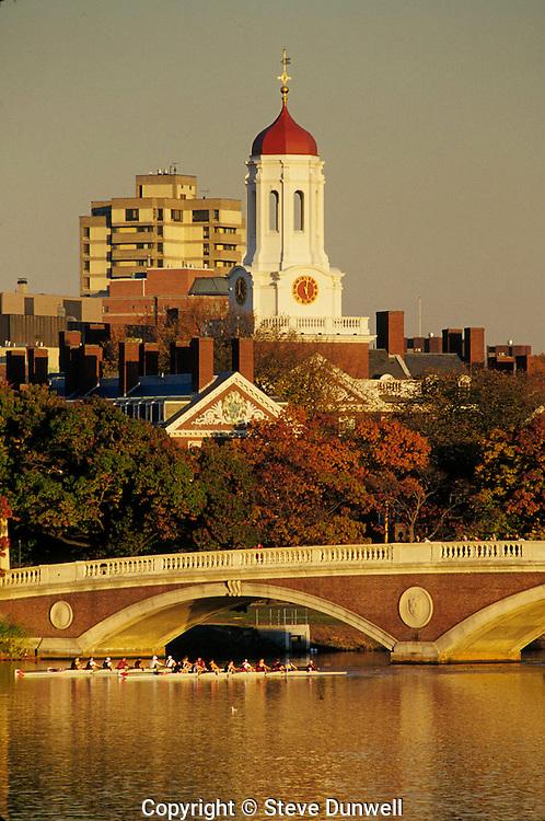 Dunster House, Weeks Bridge, rowing, Harvard Univ, Cambridge, MA