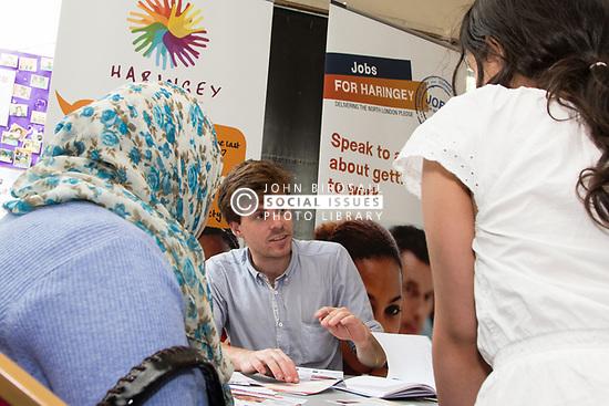 Jobs fair, London Borough of Haringey