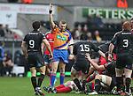 Referee David Wilkinson<br /> RaboDirect Pro12<br /> Ospreys v Munster<br /> Liberty Stadium<br /> 23.02.14<br /> <br /> ©Steve Pope-SPORTINGWALES