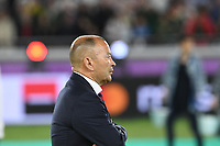 1st November 2019, Yokohama, Japan;  England head coach Eddie Jones during the awards ceremony after the 2019 Rugby World Cup Final match between England and South Africa at the International Stadium Yokohama in Yokohama, Kanagawa, Japan on November 2, 2019.