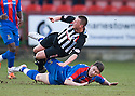 PARS JOE CARDLE IS BROUGHT DOWN BY CALEY'S JOSH MEEKINGS