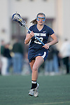 Santa Barbara, CA 02/18/12 - Kristin Lund (BYU #23) in action during the Arizona State vs BYU matchup at the 2012 Santa Barbara Shootout.  BYU defeated Arizona State 10-8.